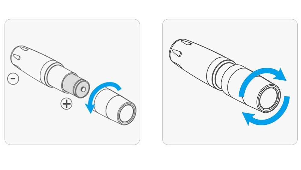 PGYTECH Landing Gear Extensions LED Headlamp Set for Mavic 2-4