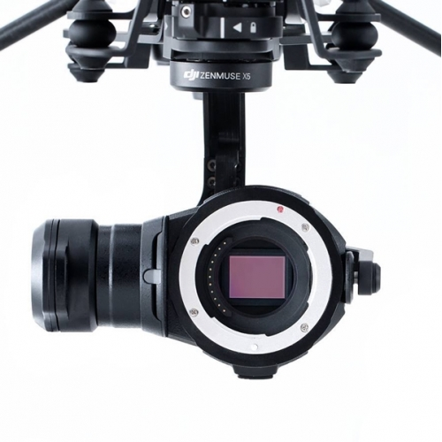 DJI Zenmuse X5 Camera and Gimbal - Lense Excluded
