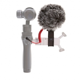 Part 45 - Quick Release 360° Mic Mount and microphone for DJI OSMO