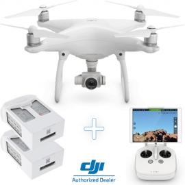 Дрон DJI Phantom 4 + две допълнителни интелигентни батерии