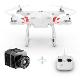 Дрон DJI Phantom 2 Версия 2.0 + Термовизионна камера FLIR Vue 336