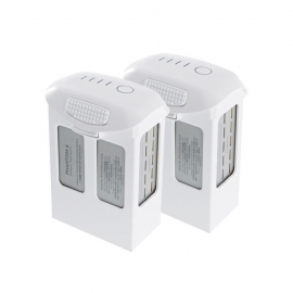 Promo pack of two Intelligent Flight Batteries for DJI Phantom 4 Camera Drone