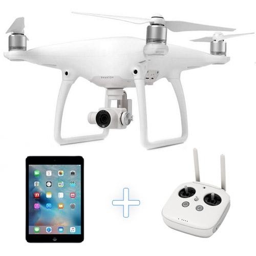 apple drone. DJI Phantom 4 Camera Drone + Apple IPad Mini 2