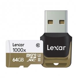 Карта памет Lexar Professional 1000x Micro SDHC 64GB
