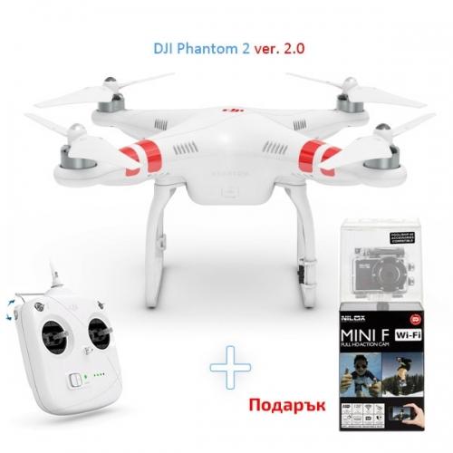 Квадрокоптер dji phantom 2 standard цена сменная батарея phantom бывший в употреблении (бу)