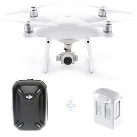 DJI Phantom 4 Pro Camera Drone + DJI Hardshell Backpack  + Additional Intelligent Flight Battery