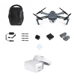 Комплект DJI Mavic Pro Fly More Combo + DJI Goggles