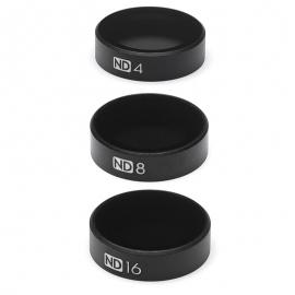 Комплект от ND4, ND8, ND16 филтри за дрон DJI Mavic Air