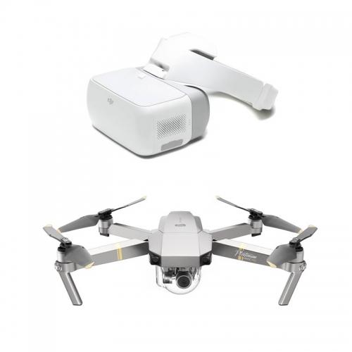 DJI Mavic Pro Platinum Camera Drone Goggles