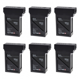 6x DJI Intelligent Flight Battery TB47S for Matrice 600