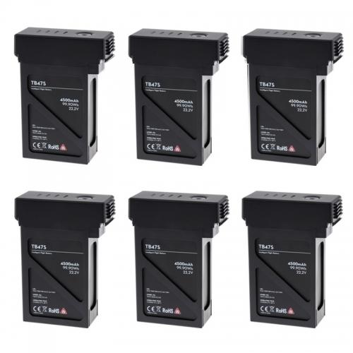 6 броя интелигентни батерии TB47S за DJI Matrice 600