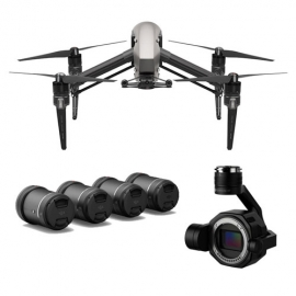 DJI Inspire 2 Licensed + DJI Zenmuse X7 Camera + DL/DL-S Lens Set