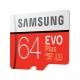 Карта Памет Samsung EVO Plus Micro SDXC 64GB
