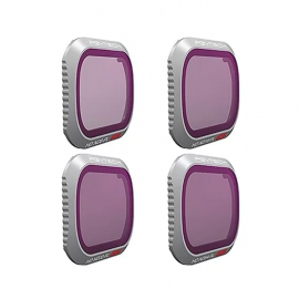 PGYTECH Комплект от ND8/PL, ND16/PL, ND32/PL и ND64/PL (Advanced) филтри за Mavic 2 Pro