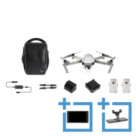 DJI Mavic Pro Platinum Fly More Combo + Crystalsky 5,5 with Mounting Bracket