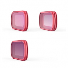PGYTECH Комплект от MRC-CPL, ND8 и ND16 Professional филтри за Osmo Pocket