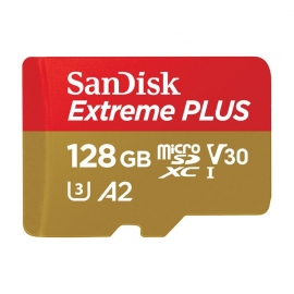 Карта памет SanDisk Micro SD Extreme Plus 128GB V30