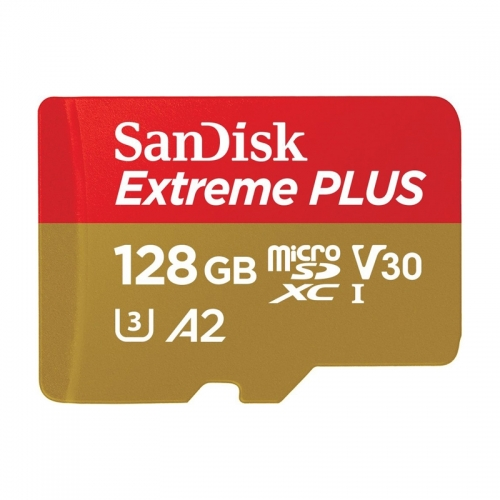Карта памет SanDisk Micro SD Extreme Plus 128GB V30