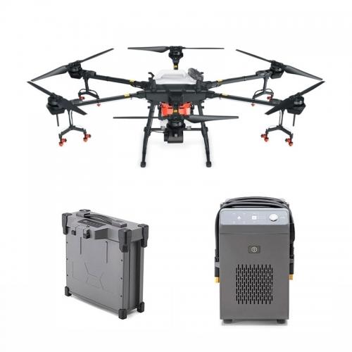 Селскостопански дрон DJI Agras T16 с 1 батерия и зарядно устройство