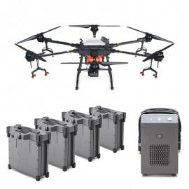 Селскостопански дрон DJI Agras T16 с 4 батерии и зарядно устройство