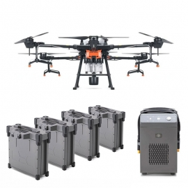 DJI Agras T20 Combo Agriculture Drone with 4 Batteries and Charger