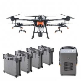 Селскостопански дрон DJI Agras T20 с 4 батерии и зарядно устройство