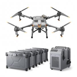 Селскостопански дрон DJI Agras T10 Combo с 4 батерии и зарядно устройство