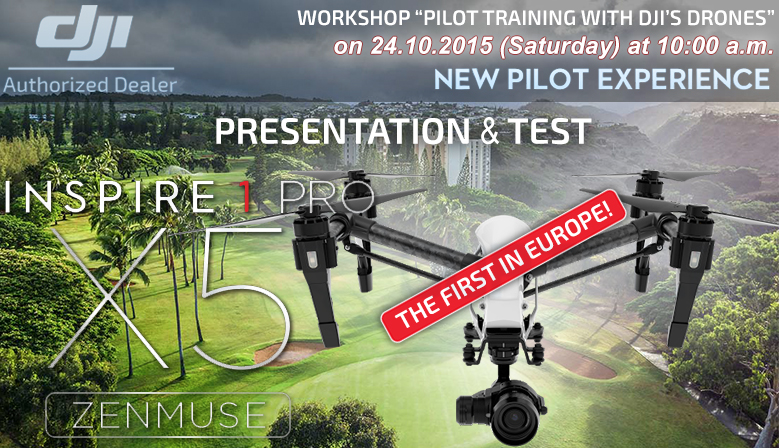 DJI new pilot training by COPTER.BG