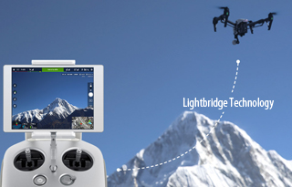 DJI Inspire1 Lightbridge