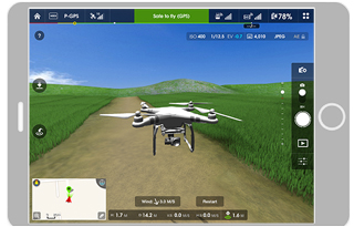 Dji pilot или dji go коптер х4 501s запись видео