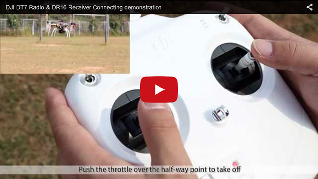 DJI DT7 Remote Controller Video