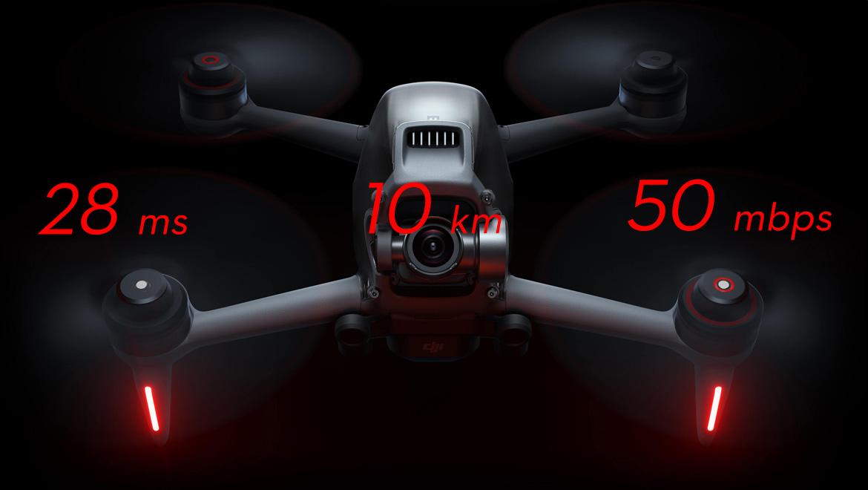 с камера Дрон DJI FPV Combo - drones.bg магазин за дронове онлайн дрон цена