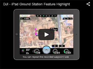 DJI Ground Station Feature Highlight Video