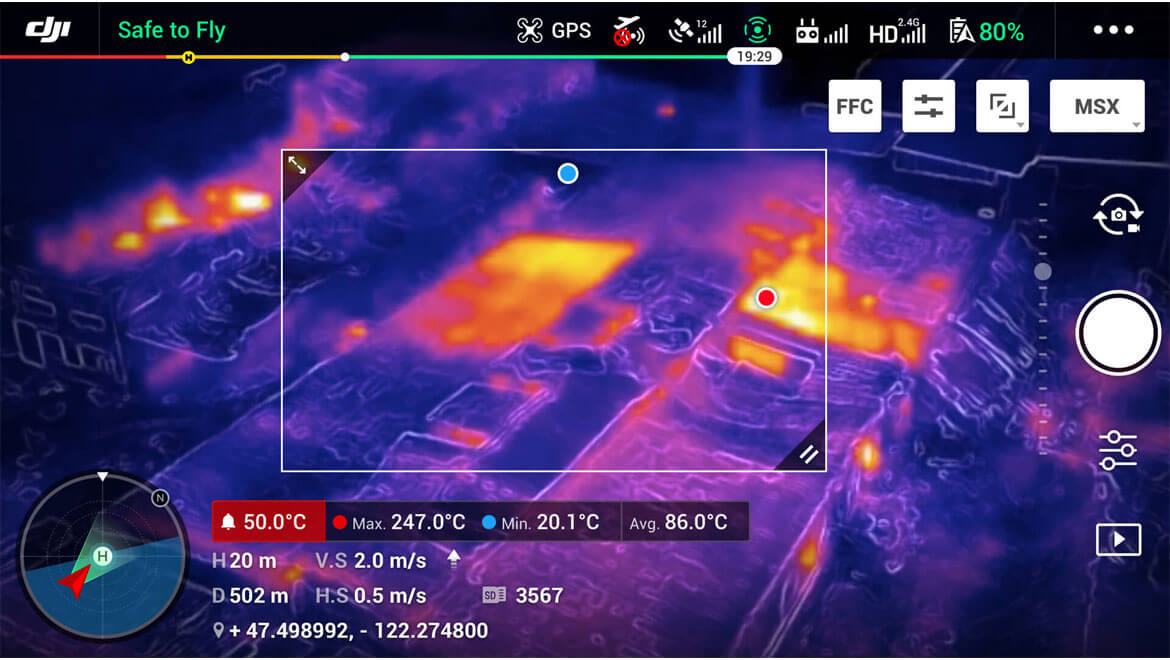 Area Measurement | Дрон Mavic 2 Enterprise Dual