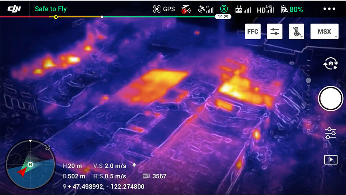 FLIR MSX | Дрон Mavic 2 Enterprise Dual