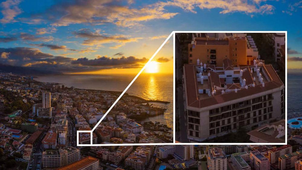 Снимки със супер резолюция с дрон Mavic 2 Zoom