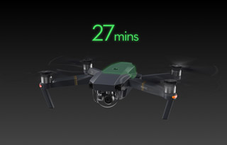 Fly much longer with the DJI Mavic Pro Camera Drone