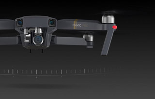 The Tripod Mode of the DJI Mavic Pro Camera Drone