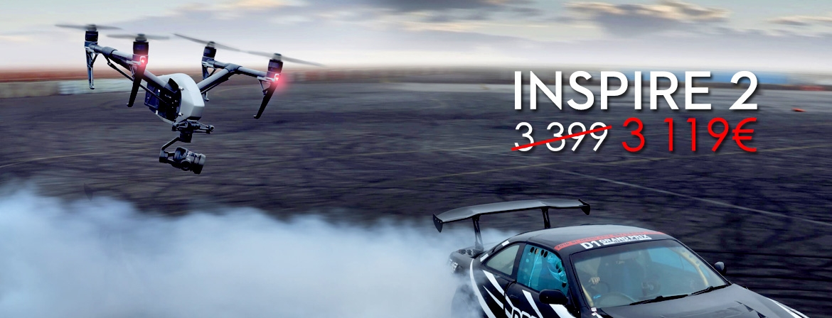 Order Inspire 2 at a great price only from COPTER.BG