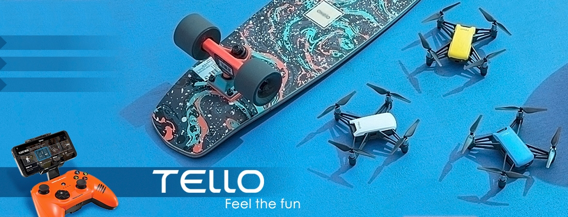 Buy the Tello Camera Drone from COPTER.BG