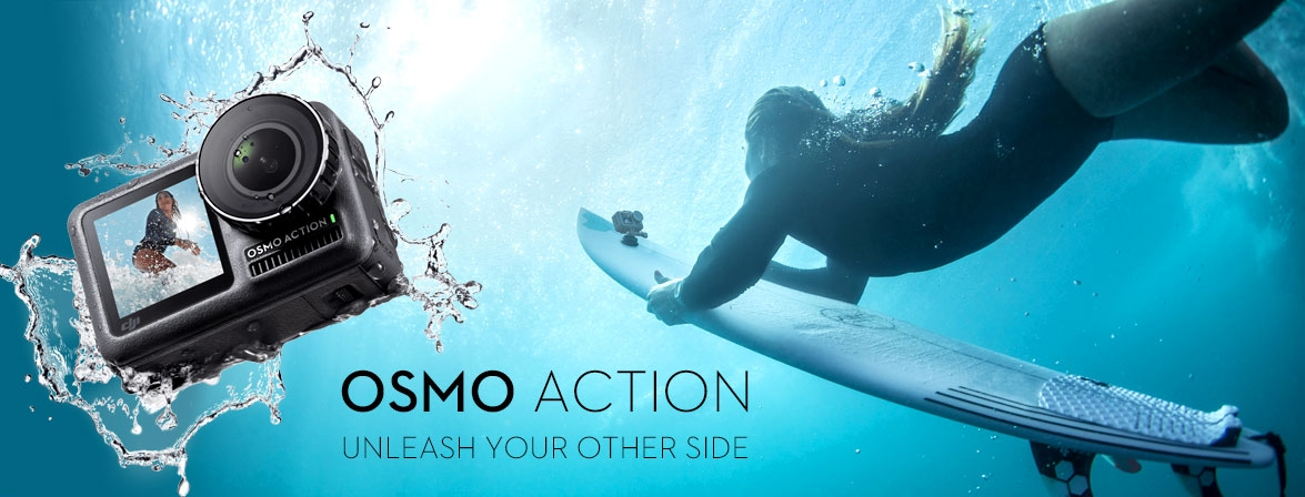 Choose your Osmo Action at a great price only at COPTER.BG