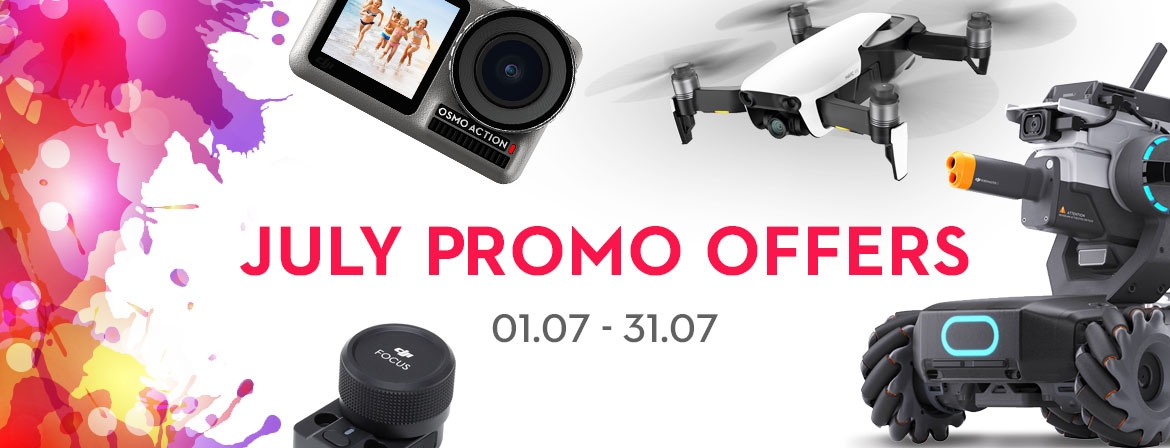 The new July promotion is waiting for you at COPTER.BG!