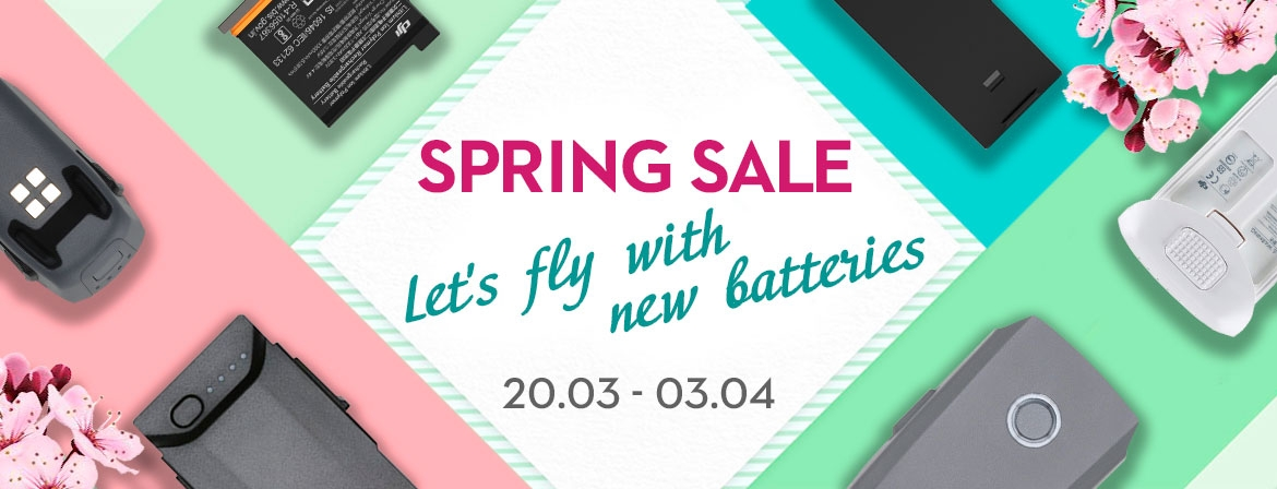 Fly off with a new battery from COPTER.BG!