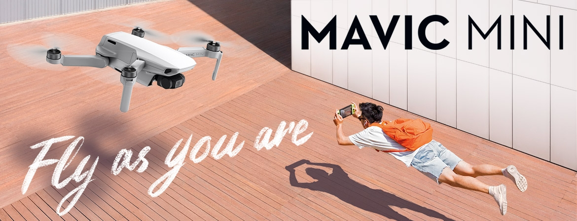 Buy DJI Mavic Mini Camera Drone now from COPTER.BG!
